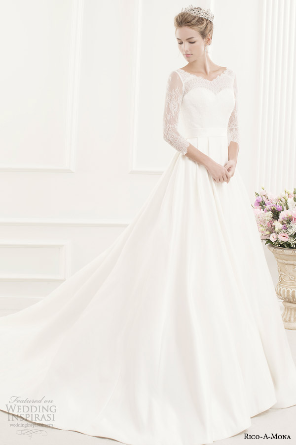 Rico-A-Mona Demure Bridal Collection | Wedding Inspirasi