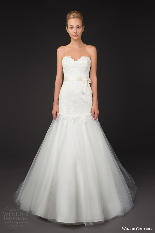 winnie couture 2014 blush label joanna strapless wedding dress