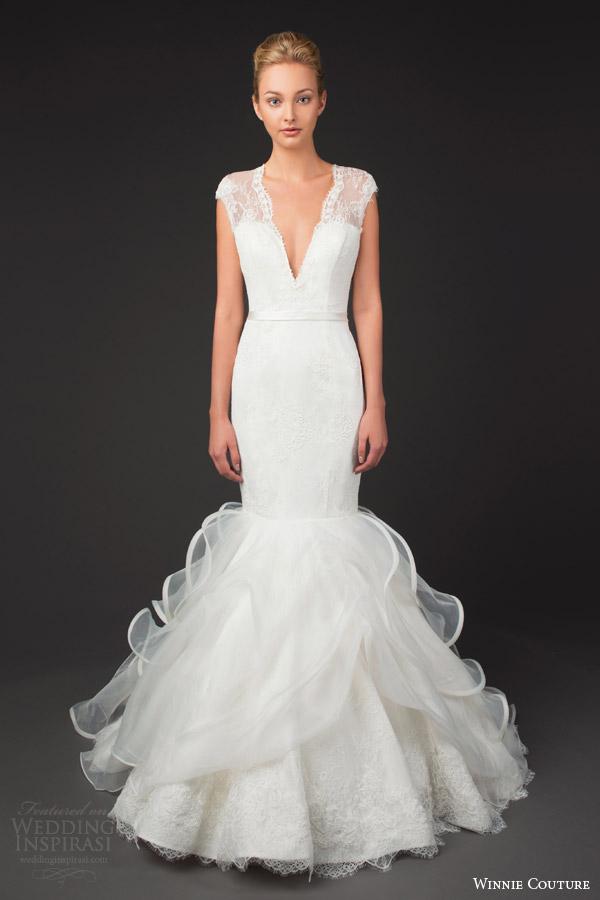 Winnie Couture Wedding Dresses 2014 Diamond Label