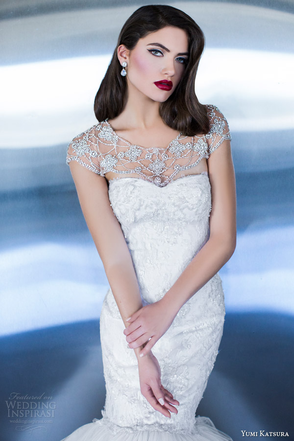 yumi katsura couture bridal 2015 artemis wedding dress with astrid bolero