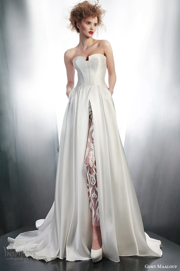 Gemy Maalouf 2015 Wedding Dresses Part 1 Wedding Inspirasi