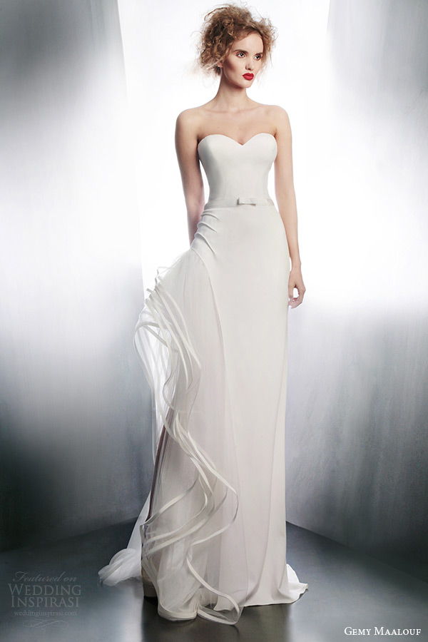 gemy maalouf winter 2015 unique avant garde wedding dress style 4000 4065