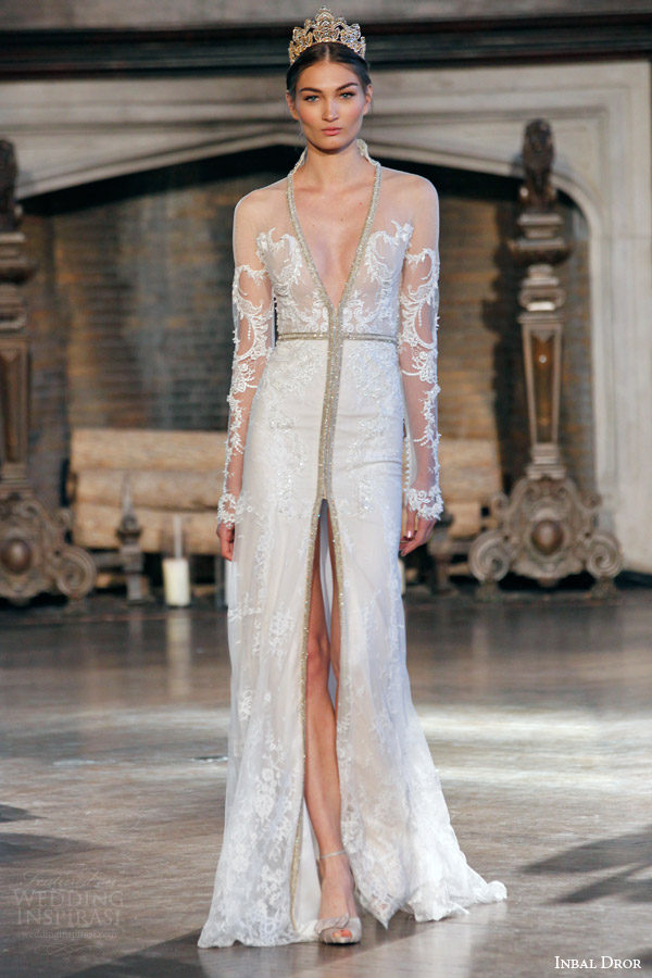 Wedding Dresses For Fall 2015 Inbal Dror Fall Wedding
