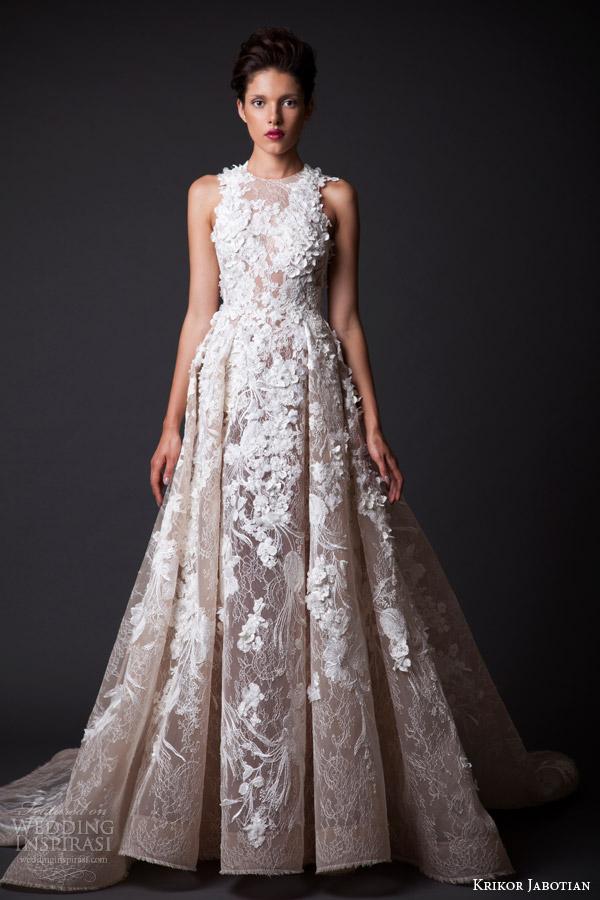 Wedding Dress Applique 31 Fabulous krikor jabotian fall bridal
