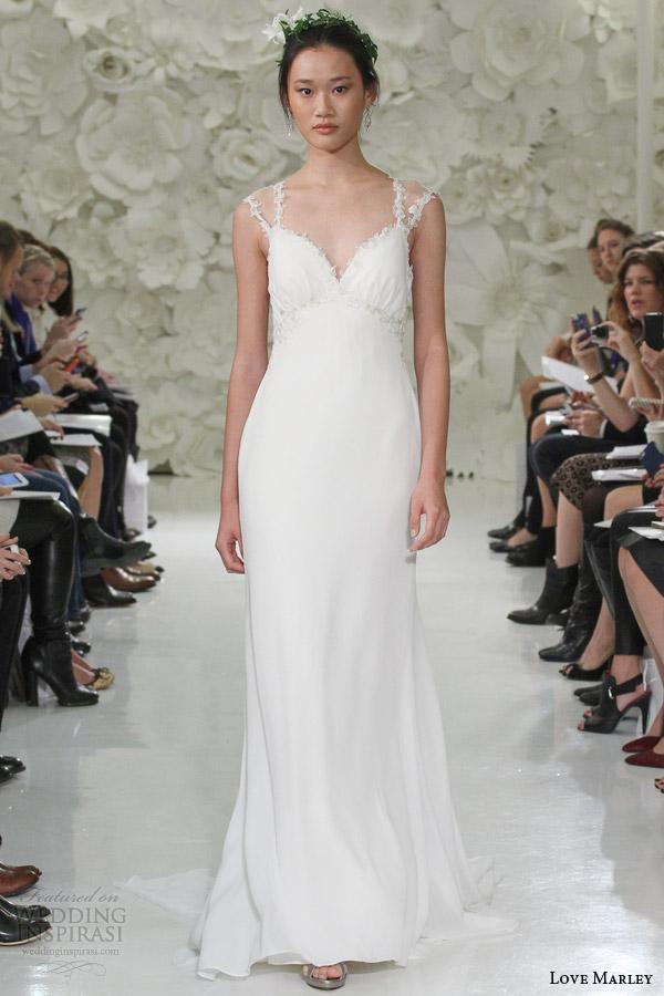 Georgette Wedding Dress 1 New love marley watters bridal