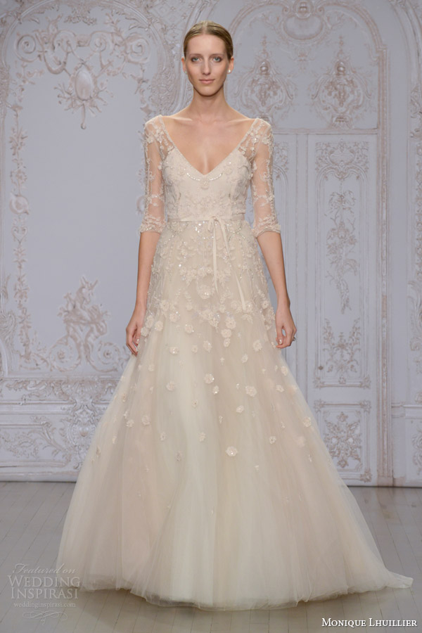 Monique Lhuillier Fall 2015 Wedding Dresses Wedding