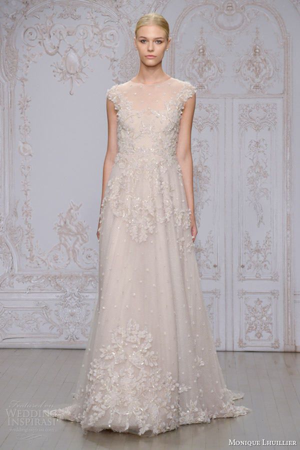 Monique Lhuillier Fall 2015 Wedding Dresses | Wedding Inspirasi