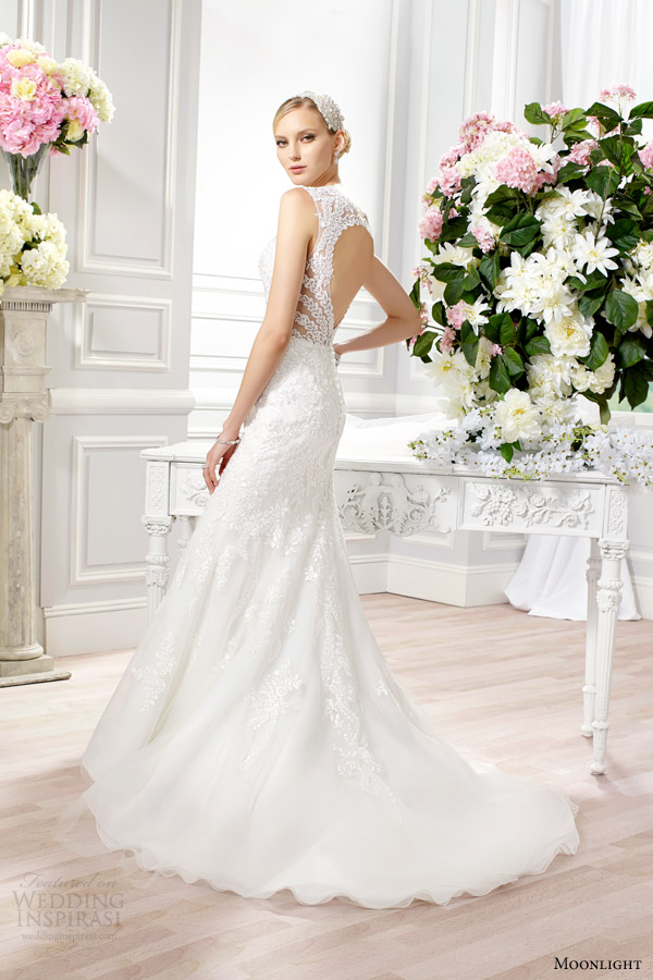 Lace Wedding Dress With Keyhole Back 89 Luxury moonlight bridal couture spring