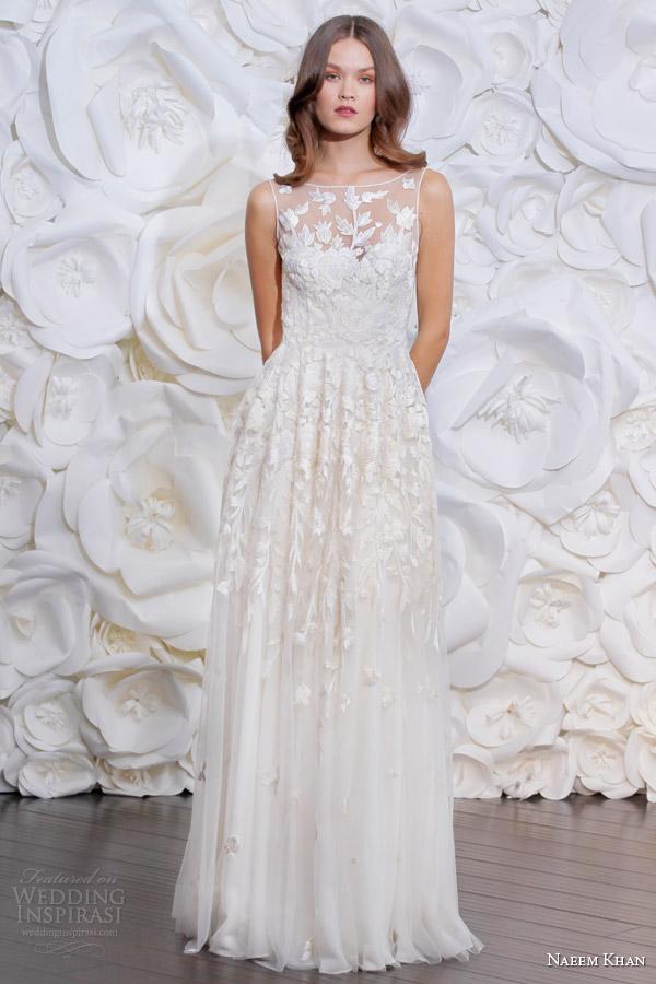 Naeem Khan Bridal Fall 2015 Wedding Dresses Wedding