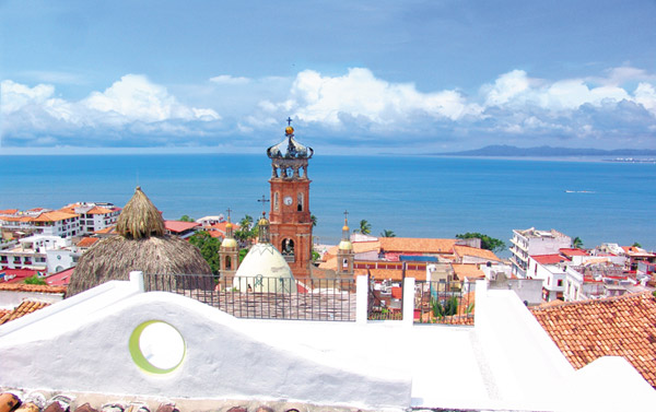 puerto vallarta jalisco mexico romantic popular town during the day