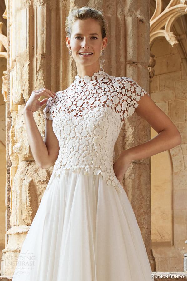 Guipure Lace Wedding Dress 41 Cool raimon bundo natural bridal