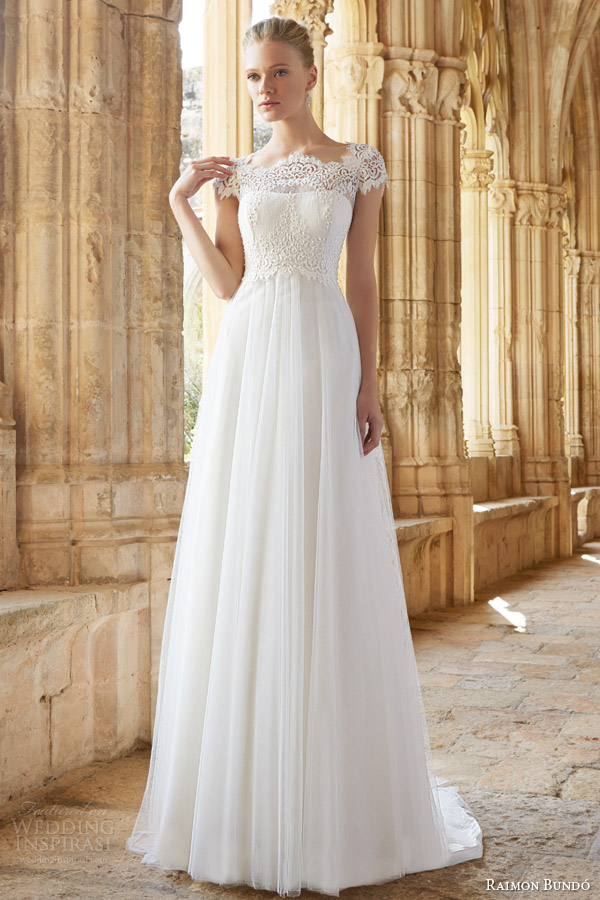Raimon Bundo 2015 Wedding Dresses Natural Bridal