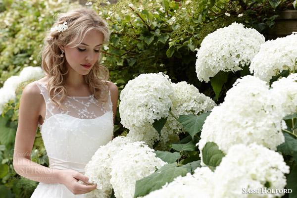 sassi holford bridal 2015 marianne wedding dress
