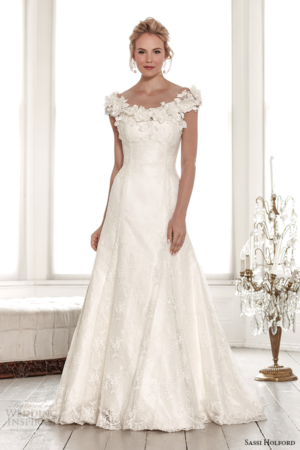 Sassi holford 2015 wedding dresses signature bridal for A line style wedding dresses