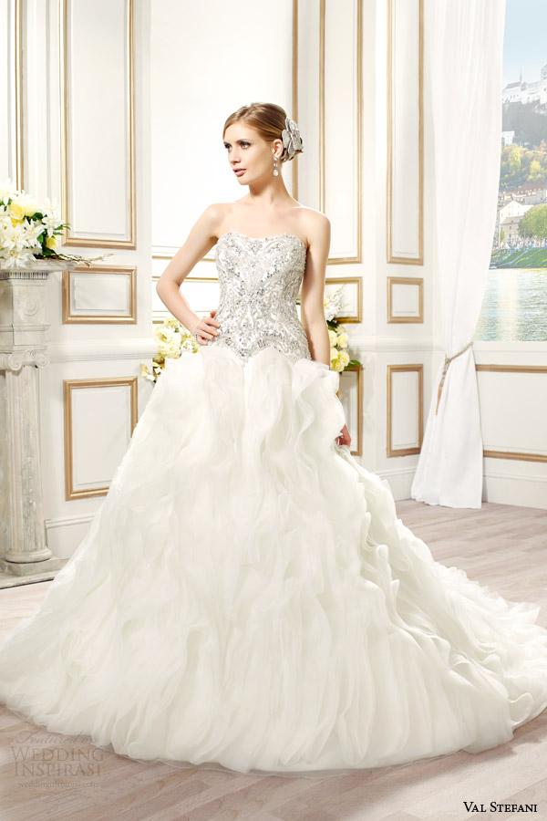 Silver Wedding Gown 51 Superb val stefani bridal spring