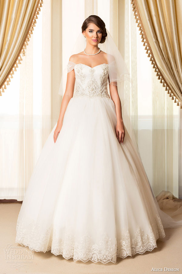 Alice Design 2015 Wedding Dresses — Passion Bridal Collection ...
