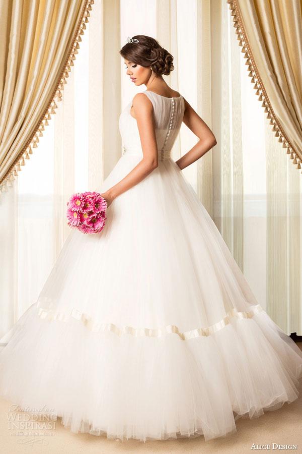 View Wedding Dresses 40 Fancy alice design bridal sleeveless