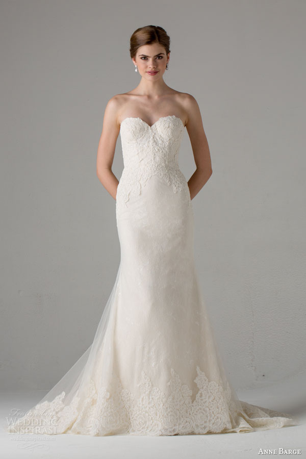 anne barge bridal fall 2015 avallon strapless sweetheart wedding dress