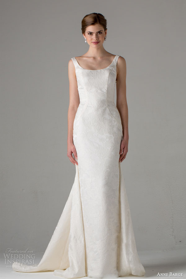 anne barge bridal fall 2015 chartres sleeveless wedding dress with straps scoop neckline