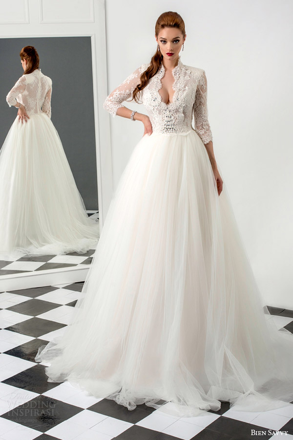 Bien Savvy 2015 Wedding Dresses — Love Me Forever Bridal Collection ...