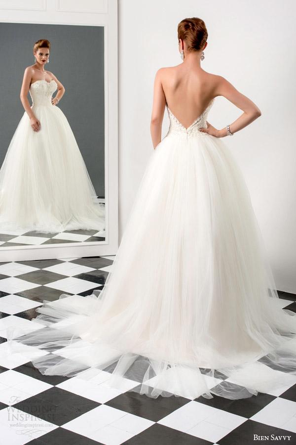 Bien Savvy 2015 Wedding Dresses — Love Me Forever Bridal Collection ...