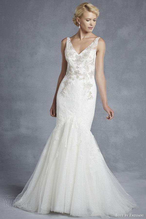 Wedding Dresses By Enzoani 4 Fancy blue by enzoani bridal