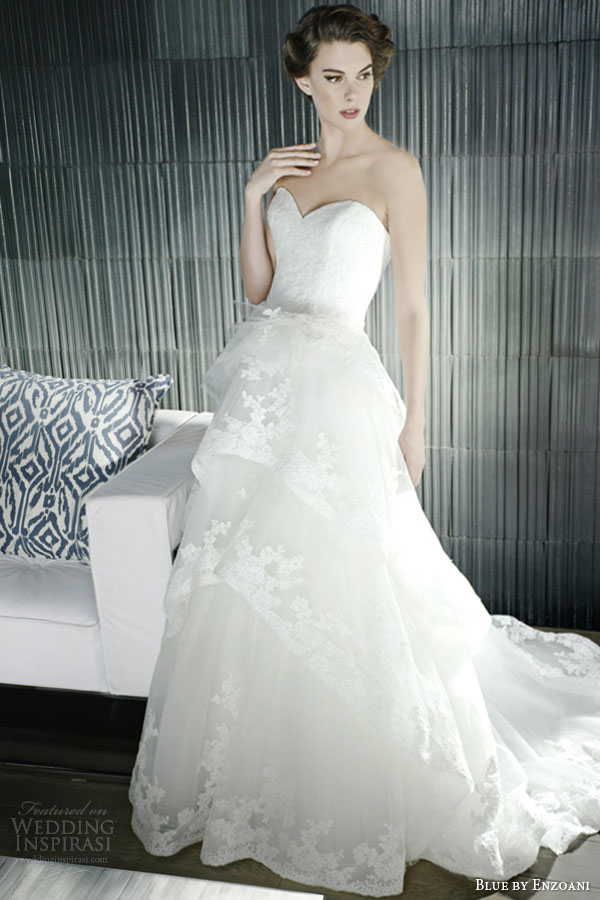 Blue Enzoani Wedding Dress For  : Stunning bridal collections for enzoani sponsor