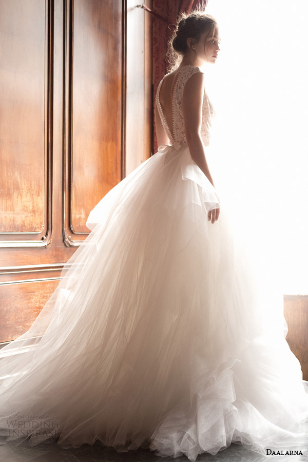 daalarna 2015 pearl bridal collection ethereal ball gown wedding dress