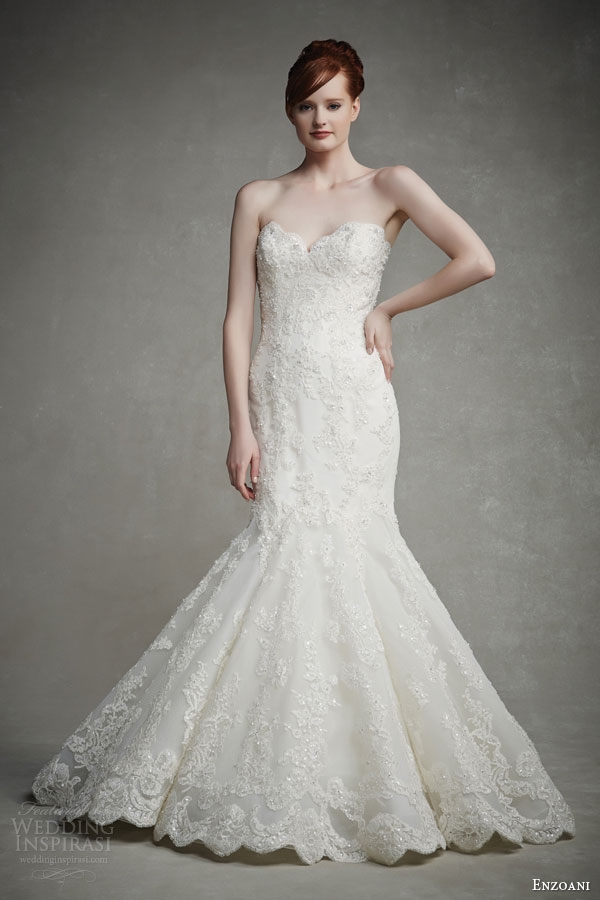 Hem A Lace Wedding Dress : Bridal collections for enzoani sponsor highlight wedding