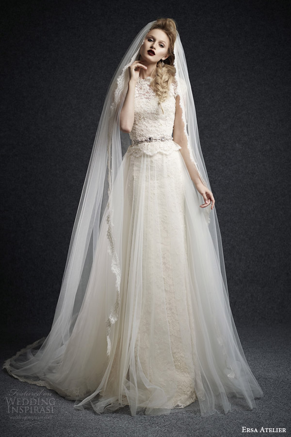Lace Tulle Wedding Dress