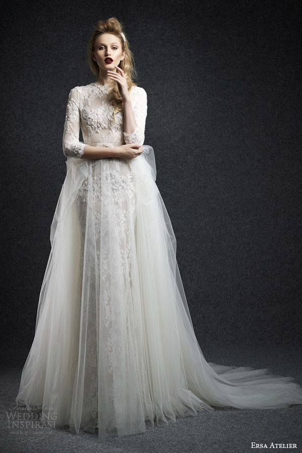 Fall Wedding Gowns : Ersa atelier fall wedding dresses inspirasi