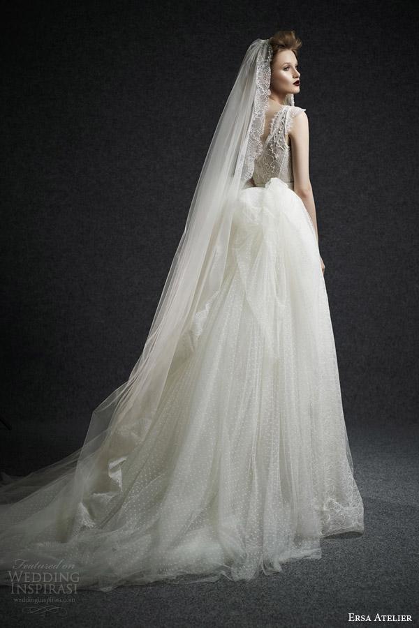 Wedding Dresses Tulle 78 Fabulous ersa atelier fall bridal
