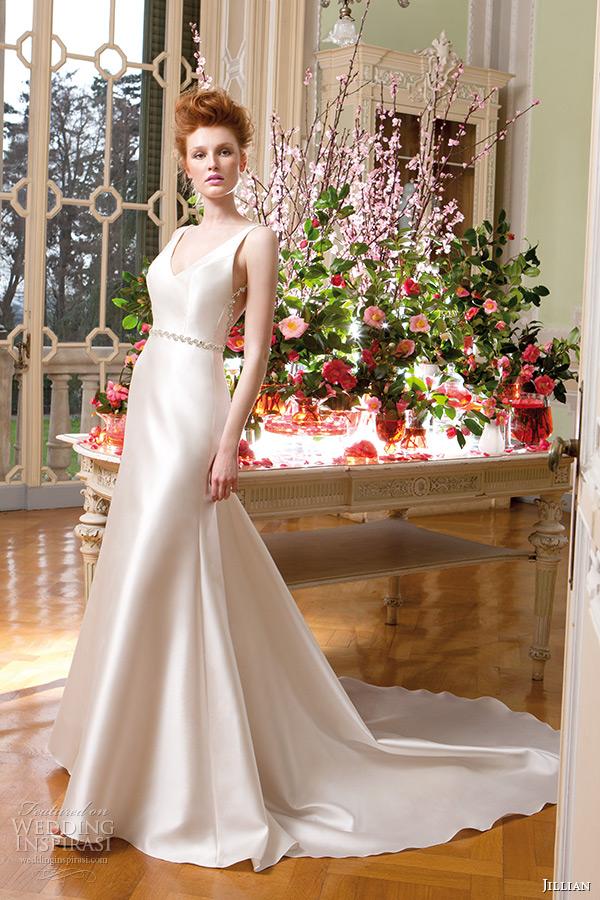 Ivory Wedding Gown 74 Perfect jillian wedding dress v