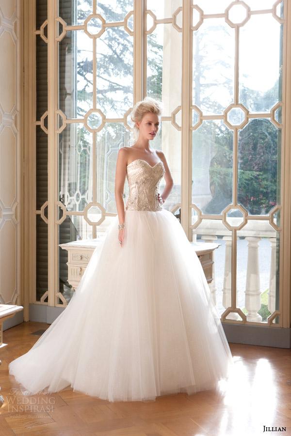 Ball Gown Strapless Wedding Dresses 66 Elegant jillian sposa bridal strapless