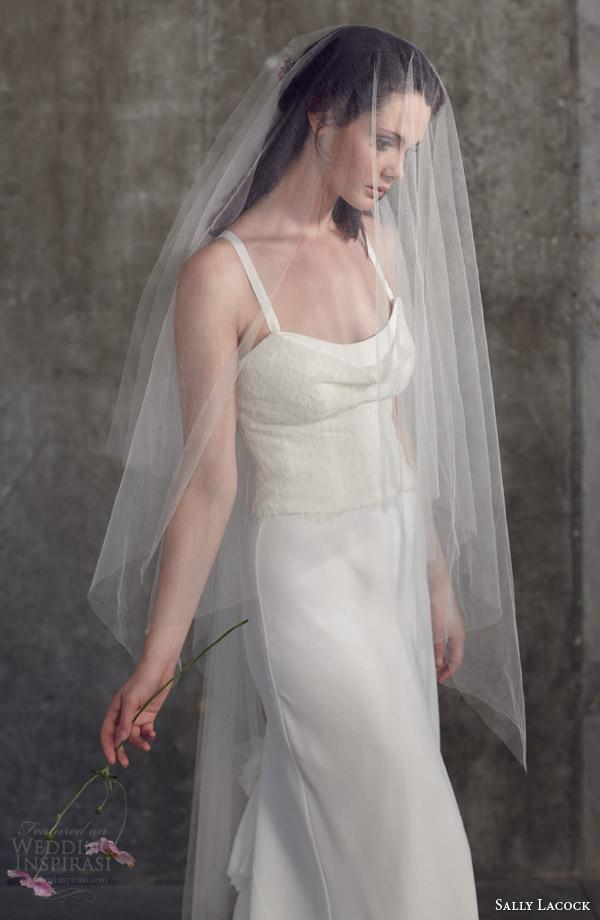 sally lacock bridal separates 2014 wedding dresses mint bodice grosgrain straps bay bias cut sheath skirt