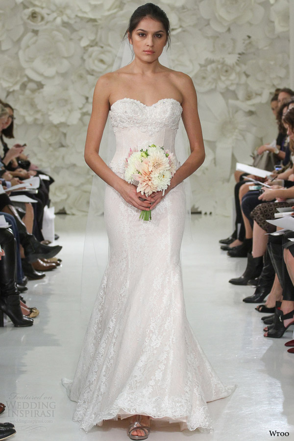 Rose Gold Wedding Dress 55 Vintage wtoo watters bridal spring