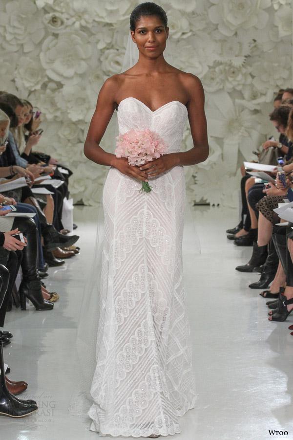 Rose Gold Wedding Dress 21 Stunning wtoo watters spring gia