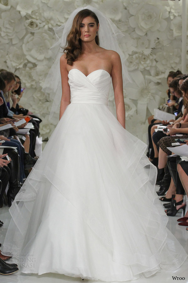 Wtoo Spring 2015 Wedding Dresses — Enchanted Garden Bridal ...