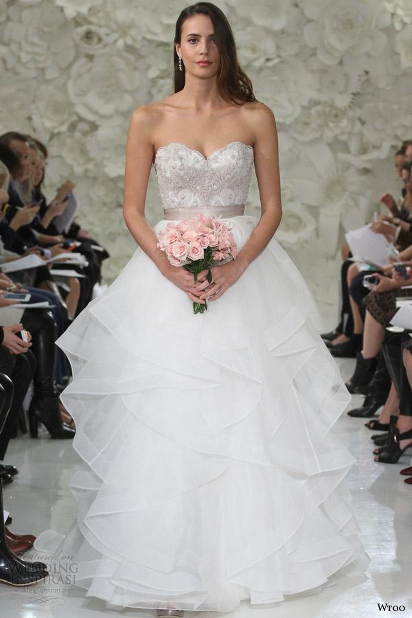 Corset Tulle Wedding Dress 87 Stunning wtoo watters wedding dresses