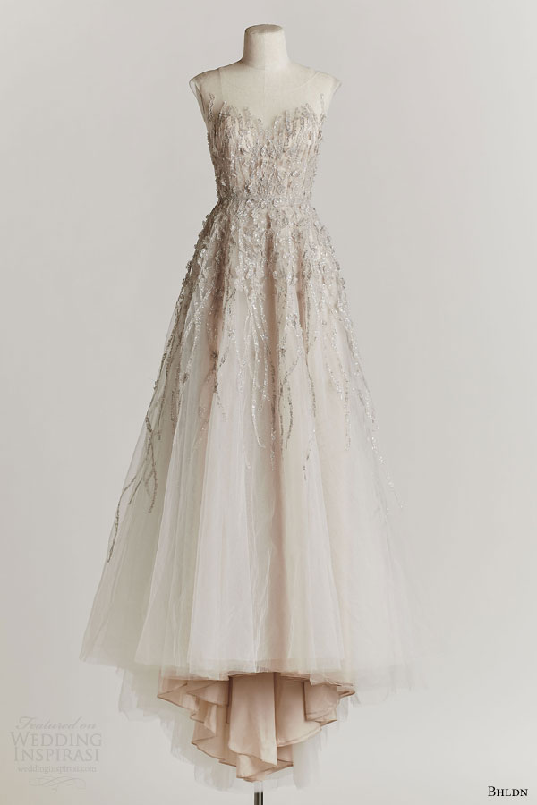 bhldn spring 2015 wisteria beaded bodice wedding dress illusion neckline