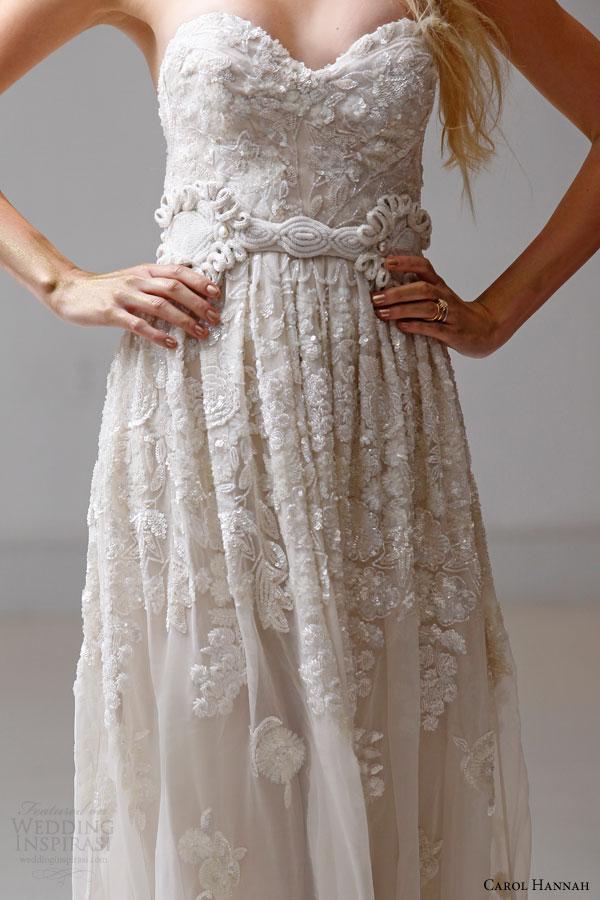 Carol hannah spring 2015 wedding dresses the alchemist for Carol hannah wedding dresses
