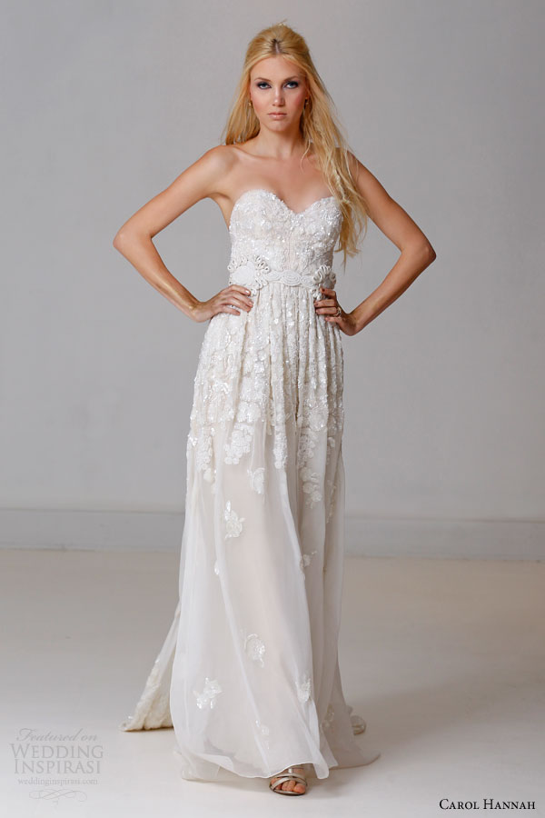 Carol Hannah Spring 2015 Wedding Dresses The Alchemist Bridal - Relaxed Wedding Dresses