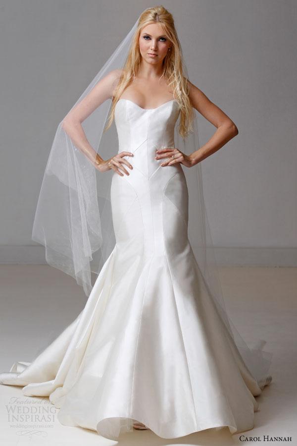 Silk Charmeuse Wedding Dress 18 Beautiful carol hannah bridal fall