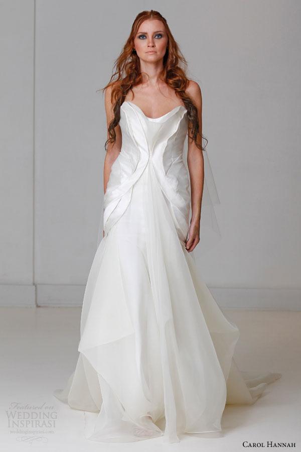 Silk Charmeuse Wedding Dress 16 Trend carol hannah bridal spring
