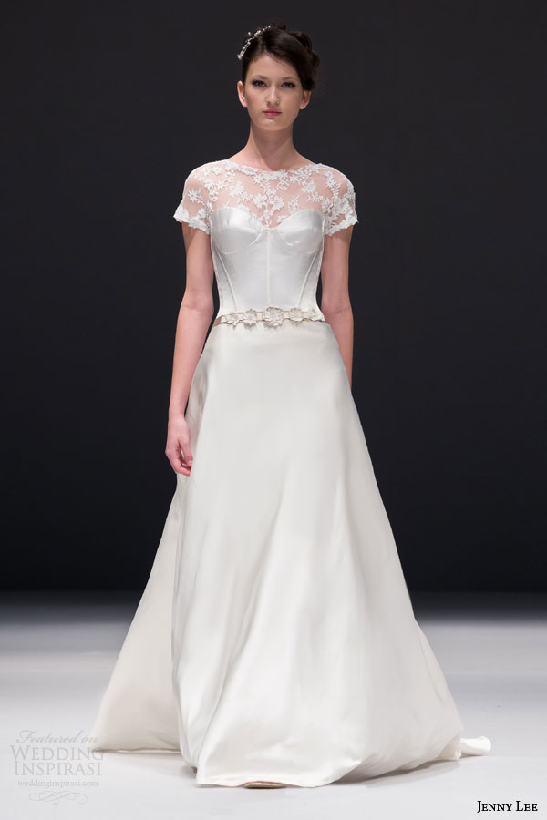 Corsets Wedding Dresses 11 Simple jenny lee bridal fall