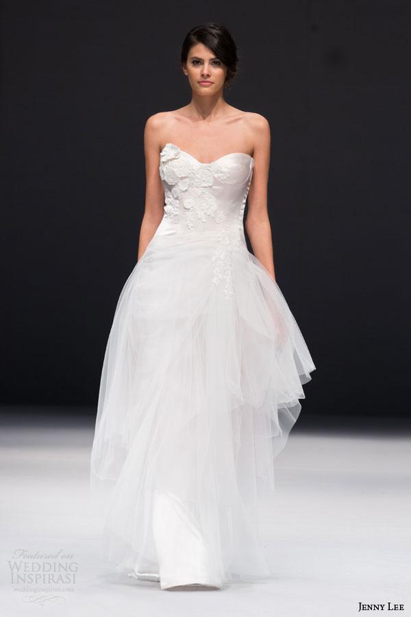 Corset Tulle Wedding Dress 25 Stunning jenny lee bridal fall