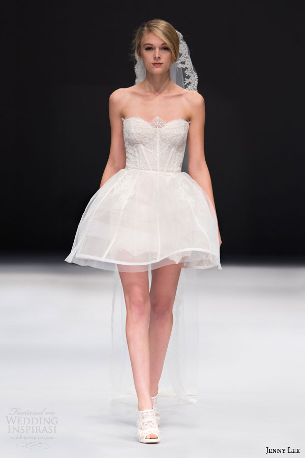 Hot Y Transpa Back Puffy Skirt Short Wedding Informal