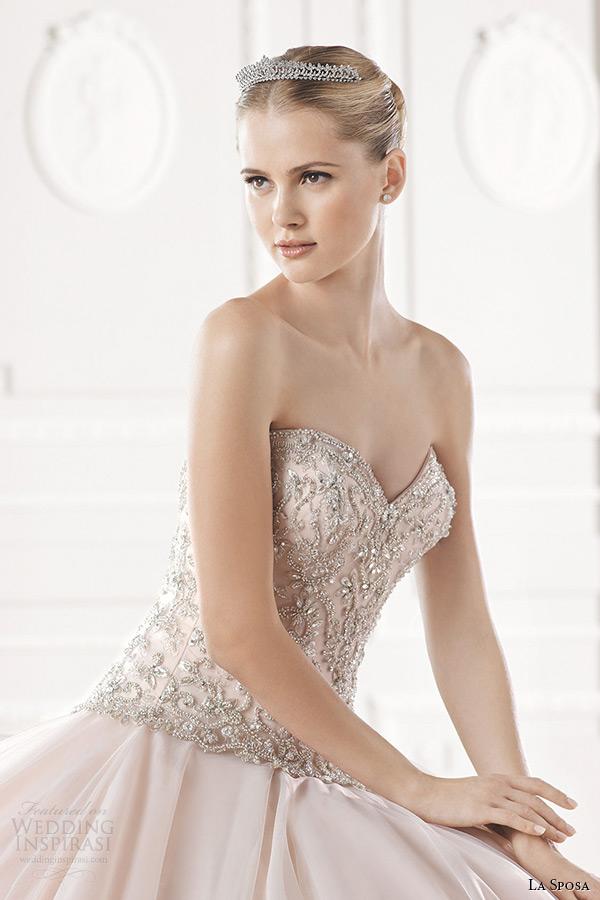 Blush Wedding Dresses 88 Lovely la sposa bridal wedding