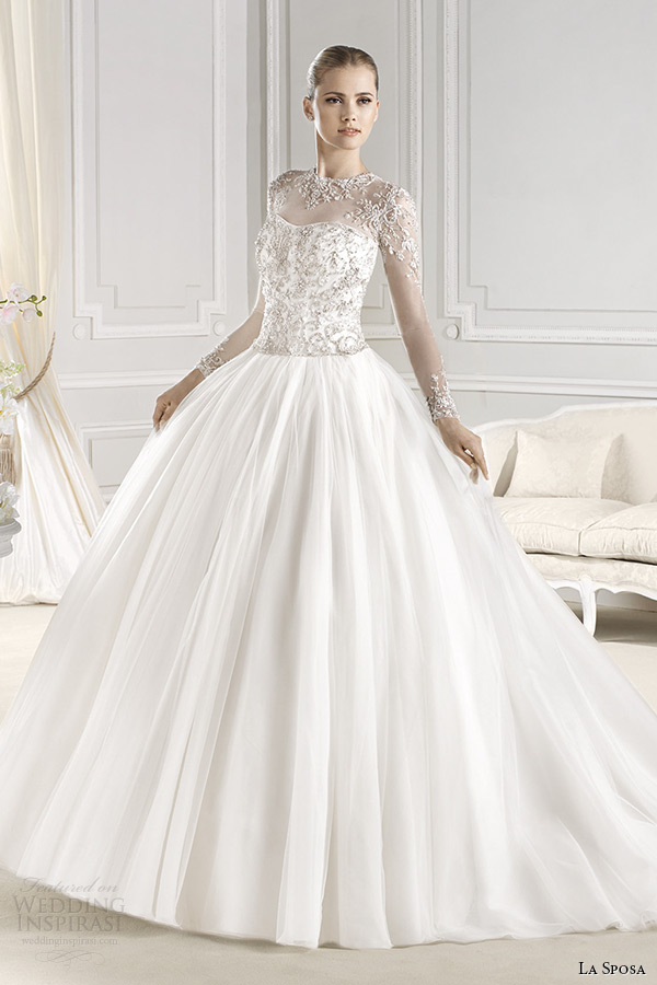 Pin la sposa mimosa bridal gown 2013 from on pinterest for La sposa wedding dress
