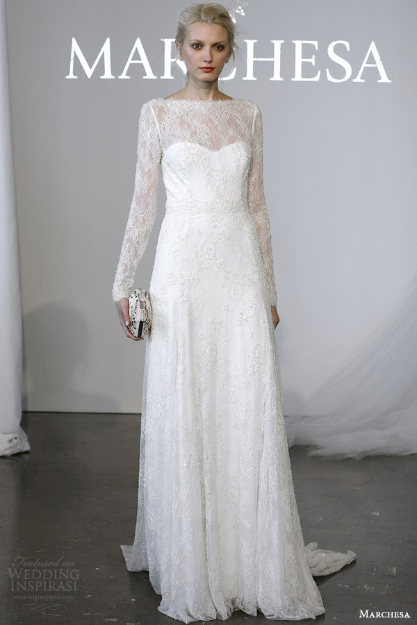 Marchesa Bridal Spring 2015 Wedding Dresses Wedding Inspirasi